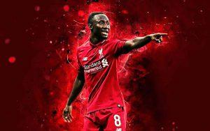 Tiền vệ số 8 của Liverpool Naby Keita