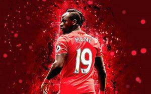 Sadio Mané trong màu áo Liverpool