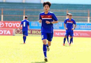 Cầu thủ trẻ tài năng Phan Thanh Hậu