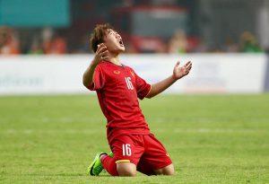 Cầu thủ giàu nghị lực Trần Minh Vương