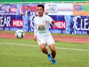 Nguyễn Phong Hồng Duy Trong màu áo CLB HAGl