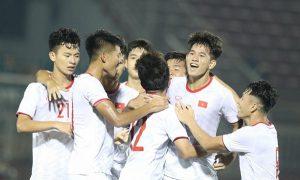 Trực tiếp U19 Việt Nam hôm nay