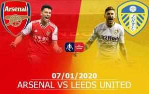 Arsenal vs Leeds United: 02h55, 07/01/2020, FA CUP