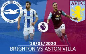 Brighton vs Aston Villa: 22h00, 18/01/2020, vòng 23 Ngoại Hạng Anh