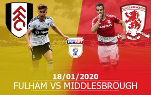 Fulham vs Middlesbrough