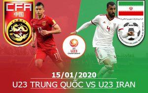 U23 Trung Quốc vs U23 Iran: 17h15, 15/01/2020, VCK U23 Châu Á