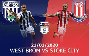 West Brom vs Stoke City: 03H00, 21/01/2020, Giải Hạng Nhất Anh